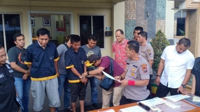 'Peras' Pengusaha SPBU Dengan Modus Akan Lakukan Aksi Unjuk Rasa, Ketua OKP diciduk Polisi�