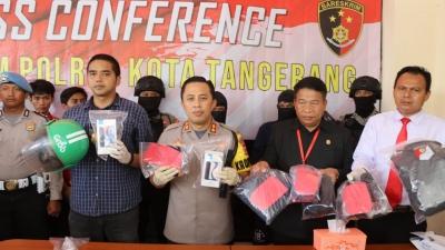 Melawan Saat Ditangkap, Perampok Minimarket Didor Polresta Tangerang