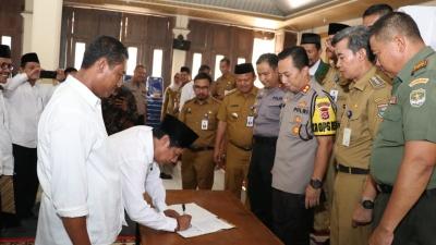 Cegah Judi Pilkades, Polresta Tangerang Bentuk Satgas