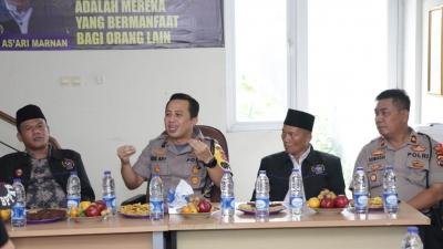 Jelang Hari Pencoblosan, Kapolresta Tangerang Ajak Ormas Ikut Jaga Pilkades