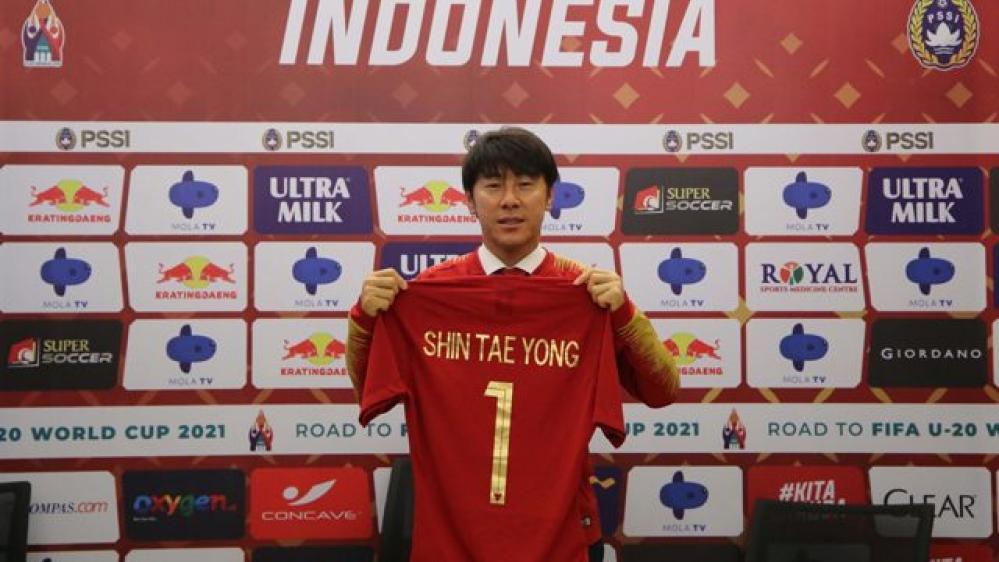 Shin Tae-yong Pelatih Timnas, juga Manajer di U-16, U-19, dan U-22