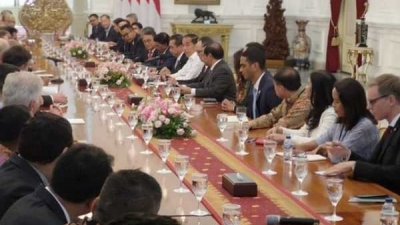 Bertemu Pengusaha AS, Jokowi Ajak Bangun Infrastruktur