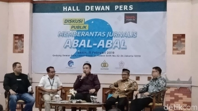 Berantas Jurnalis Abal-abal, Dewan Pers Bentuk Satgas Media Online