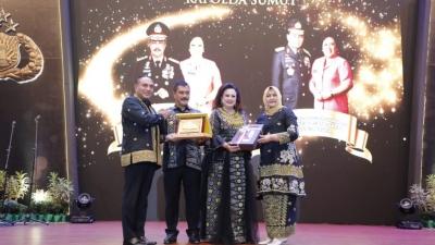 Dalam Pisah Sambut, Kapolda Dan Pangdam minta Jaga Keutuhan Sinergitas TNI- Polri Di Sumut