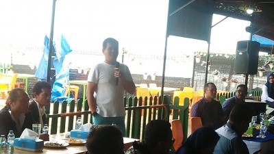 Insan Pers Unit Polda Sumut Dengan Direktorat Reserse Narkoba Melakukan Refreshing Di Marine Coffee Belawan