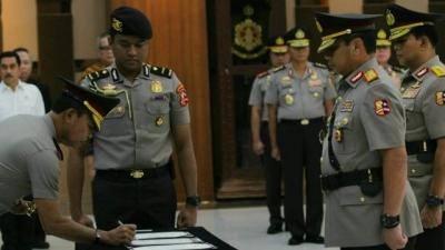 Komjen Gatot Resmi Jadi Wakapolri, Irjen Nana Jabat Kapolda Metro Jaya
