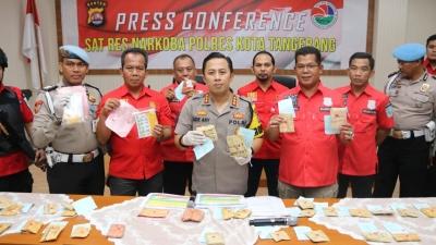 Dalam 2 Bulan, Polresta Tangerang Ringkus 58 Tersangka Kasus Narkoba
