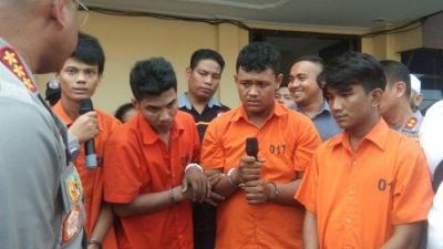 Polrestabes Medan Tembak Empat Pelaku Begal