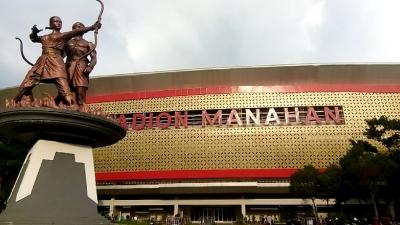 Presiden Jokowi Saksikan Laga Persis vs Persib di Stadion Manahan