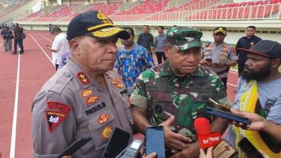 5000 Personil Disiagakan Polda Papua Amankan PON