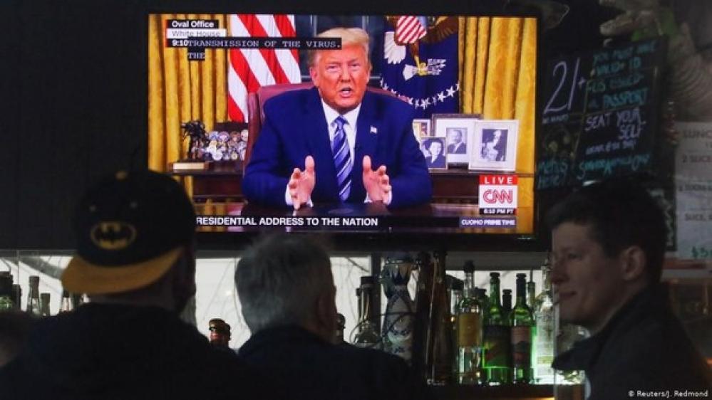 Trump Umumkan Darurat Nasional Virus Corona