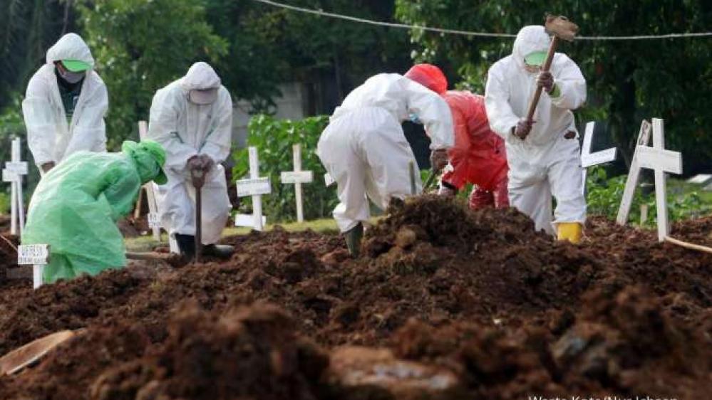 Virus Corona Melalap Kematian Manusia Mencapai 100.000 Jiwa, Sudah Lampaui Wabah London Tahun 1660-an