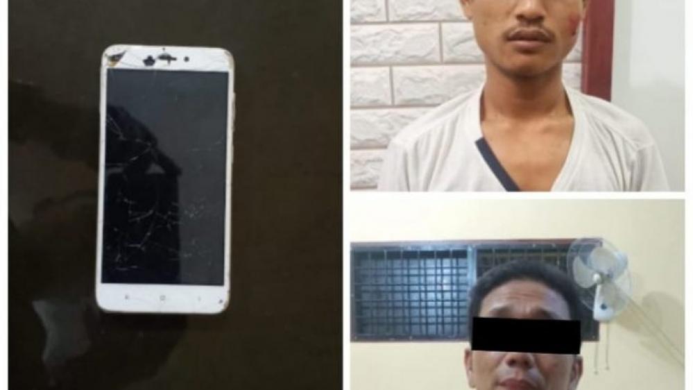 Dua Pelaku Jambret HP Android Xiaomi, Berhasil Dibekuk Tekab Polsek Lubuk Pakam