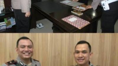 Kapolrestabes Medan Melaksanakan Sertijab Dua Pejabat Utama dan Dua Kapolsek