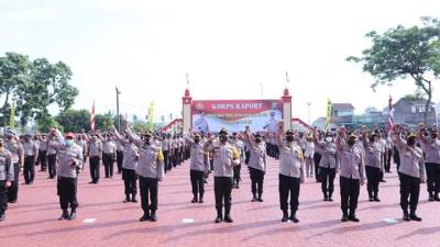 Kapolda Sumut, Berikan Kenaikan Pangkat 1.234 Personel Polri Maupun ASN Polda Sumut
