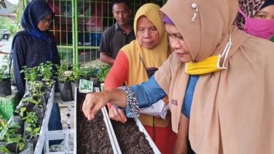 Kabaharkam Polri Support Petani Kota Medan Kembangkan Bank Sampah dan Ketahanan Pangan