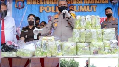 Kapolda Sumut, Peranan Media Pers, Polri Dapat Ungkap Kasus Narkotika