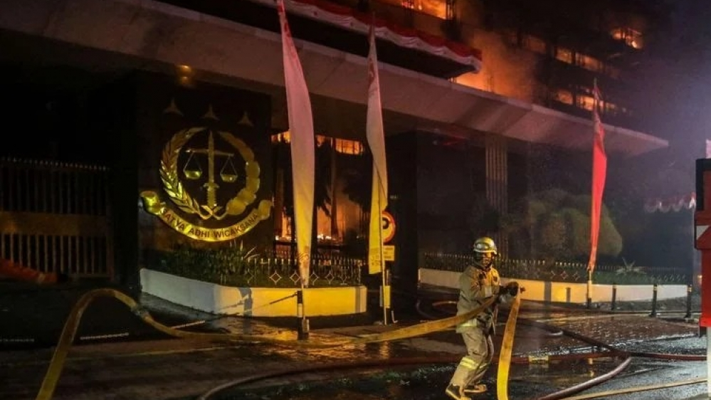 Kabakaran Gedung Kejagung, Bareskrim Periksa Ada19 Orang Sebagai Saksi
