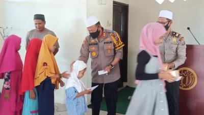 Kapolres Pelabuhan Belawan, Santuni Anak Yatim, Dihari Jumat Barokah