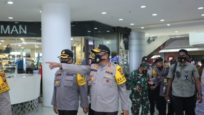 Kapolda Sumut, Kunjungi Pusat Perbelanjaan Modern Plaza Medan Fair