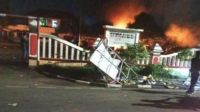 Pembakaran Markas Polsek Ciracas Ada Dugaan Keterlibatan Oknum TNI