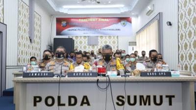 Kapolda Sumut : Buka Kegiatan Taklimat Awal Wasrik Rutin Irwasda Polda Sumut, Tahap II Tahun 2020