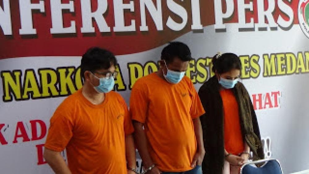Anggota DPRD Labura Ditangkap Polrestabes Medan Satuan Narkoba