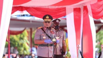 Kapolda Semut Pimpin Pembentukan Pendidikan 450 Siswa Bintara Polri di SPN Hinai Polda Sumut