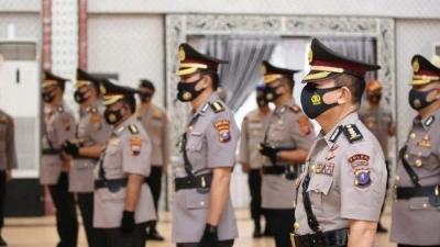 Kapolri Jenderal Polisi Idham Abis, Melakukan Mutasi, Lima Pejabat Utama Polda Sumur Diganti