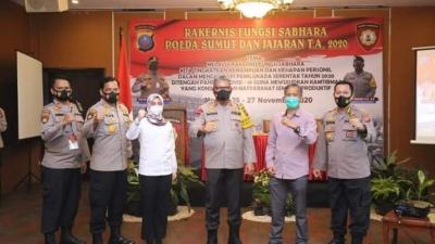 Arahan Kapolda, dalam Rekernis Sabhara, Tegaknys Negara ini Kerena TNI - Polri, Untuk itu Semangat Berdinas