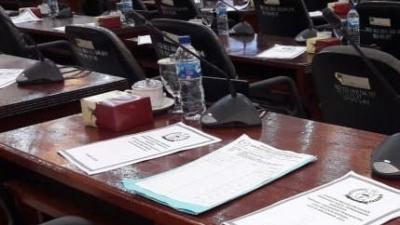 Sidang Paripurna Anggota DPRD Langkat Belum Penuhi Qorum 2/3 Terpaksa Diskor