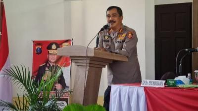Kabaharkam Polri Rangkaian Kegiatan Supervisi Operasi Mantap Praja Toba 2020, di Polres Simalungun