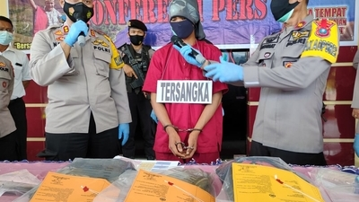Satreskrim Polres Tapteng Tangkap Pembunuh Pekerja Bangunan di Mela II Tapteng