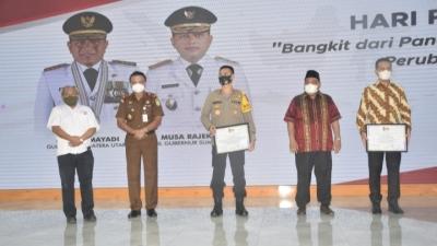 Kepolisian Sumatera Utara Dapat Penghargaan Mitra Terbaik Insan Pers