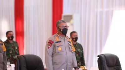 Rapim TNI-Polri 2021 Diikuti Kapolda Sumut dan Pangdam I/BB Secara Virtual