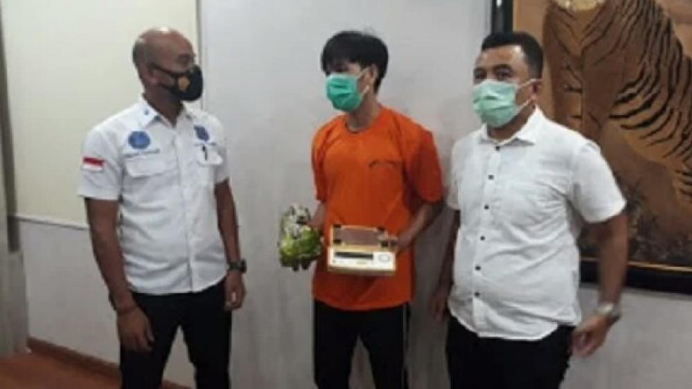 Narkoba Polrestabes Medan Gagalkan Seorang Bandar Narkoba