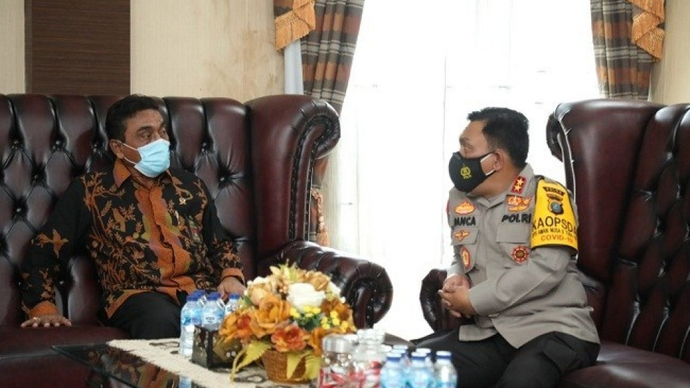 Kapolda Sumut Kunjungi Pengadilan Tinggi Medan, Dukungan Sistem Peradilan Pidana
