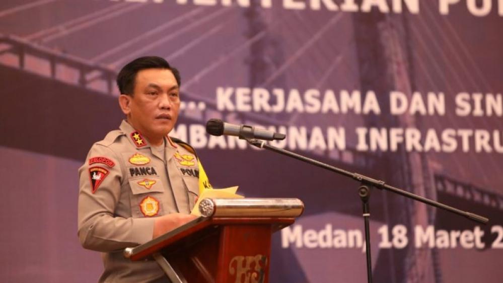 Polda Sumut Siap Mengawal Program Pembangunan Nasional di Sumatera Utara
