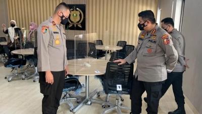 Kalemdiklat Polri ke Setukpa Lemdiklat Dalam Rangka Peninjauan Kesiapan Sekolah Inspektur Polisi