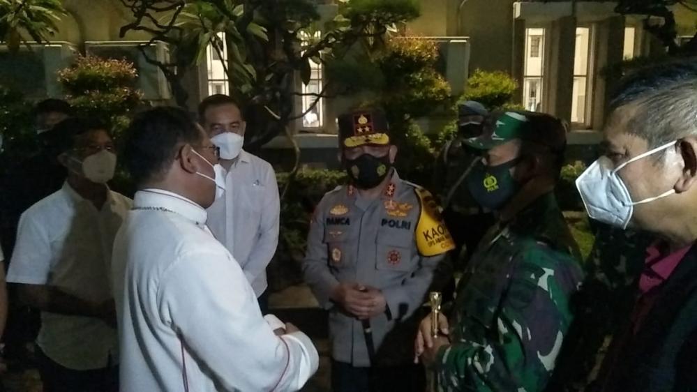 Uskup Agung Medan Apresiasi Kinerja Polri-TNI Dalam Pengamanan Ibadah Paskah