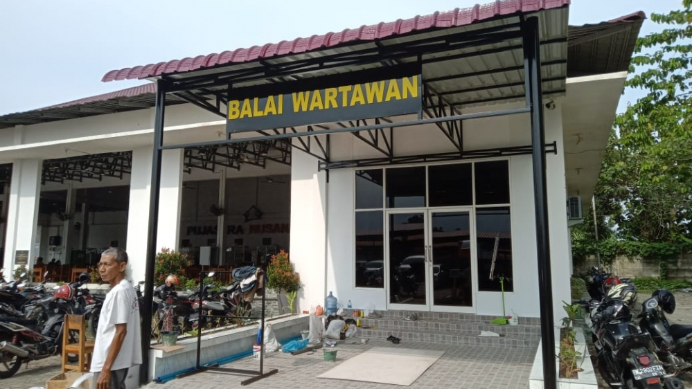 Ketua FWP Sumut : Apresiasi Kepedulian Kapolda Sumut, Telah Menyediakan Gedung Balai Wartawan Untuk Kita
