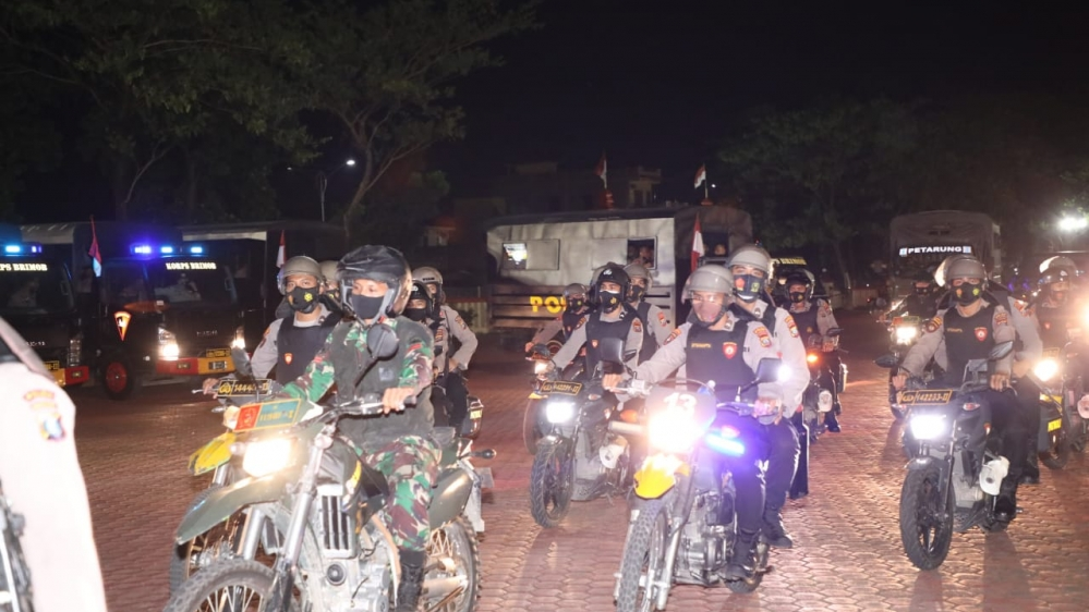 Polda Sumut dan TNI Pantau  Pelaksanaan Imbauan Pemerintah Larangan Takbiran Keliling, Berjalan Aman dan Kondusif