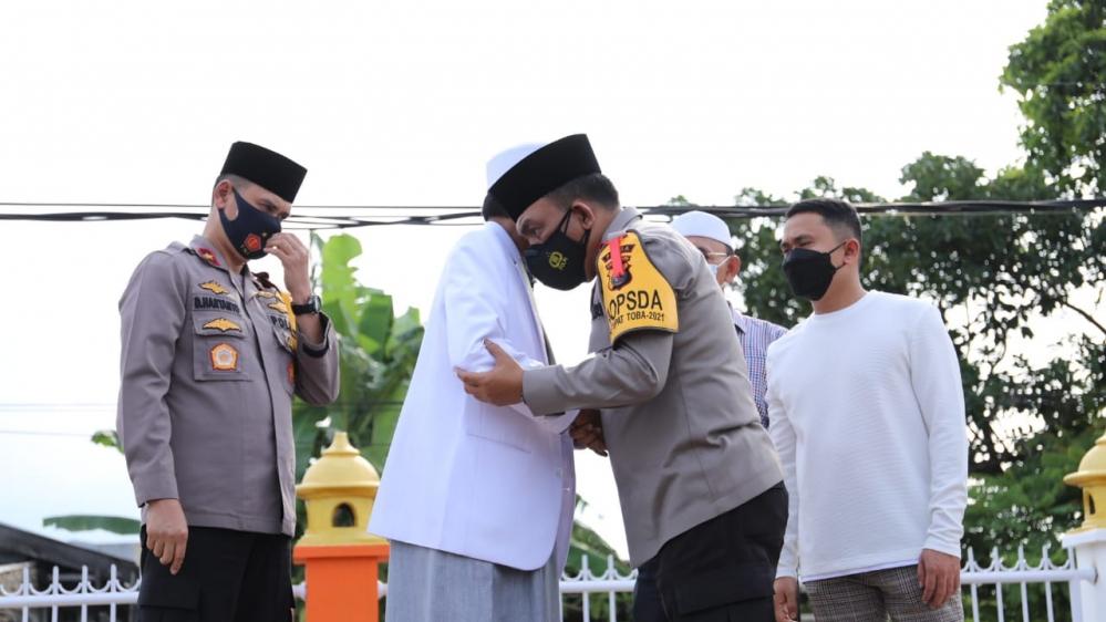 Kapolda Sumut, Kunjungan Silaturahmi ke Pondok Pesantren Al-Kautsar Al-Akbar