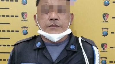 Security Aniaya Pengemis Ditangkap Polsek Medan Kota