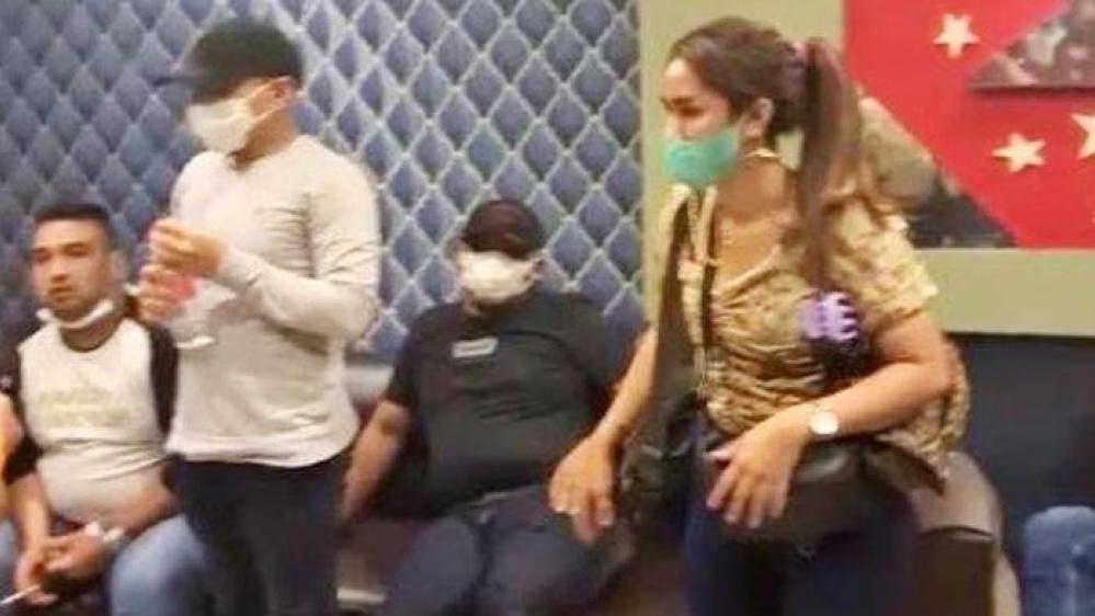 Kelima Anggota DPRD Labura Tengah Asyik Dugem, di Hotel Antariksa, Diringkus Satres Narkoba Polres  Asahan