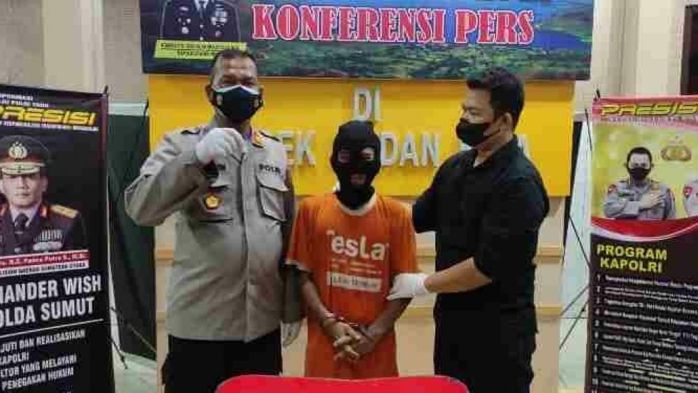 Pemuda Pecandu Sabu, Dibekuk Reserse Polsek Medan Kota