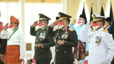 Peringatan Kemerdekaan RI ke-76 Digelar Secara Virtual Dari Istana Negara, diikuti Gubernur Sumatera Utara