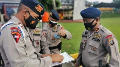 Selepas Apel Pagi, Provos Sat Brimob Polda Sumut Tingkatkan Disiplin Terhadap Personel Polri