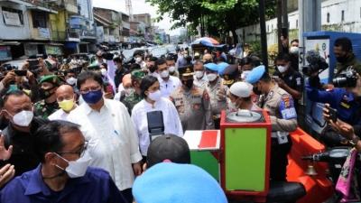 Pemerintah Berikan Bantuan Kepada Pedagang K-5 dan Warung Rp 1,2 Juta Per-orang, Yang disampaikan Kabareskrim Polri