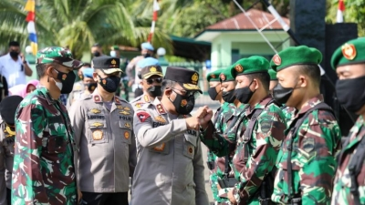 Harus Jalin Sinergitas, Kapolda Sumut Ajak TNI-Polri Harus Kompak Untuk Percepat Vaksinasi